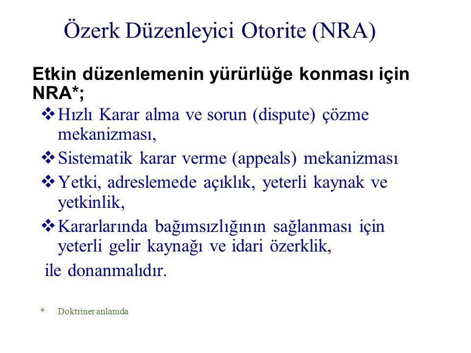Sonuçlar (4) Bilgi çağının temel gereklerinden olan telekomünikasyonun hızla gelişimi ve yaygınlaştırılması için Türk Telekom 'un, bir an önce yeniden yapılandırılarak, tekel hakkının 31 Aralık 2003 tarihi beklenmeden mümkün olan en kısa sürede sona ermesi uygun olacaktır.