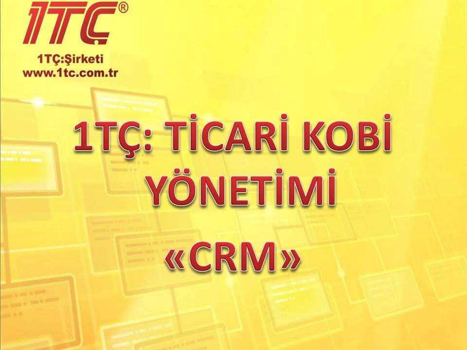 CRM – şirket felsefesi olarak düşünülebilir: Bu şirket felsefesini hayata geçirmek için geliştirilen araçlardan bir tanesidir.