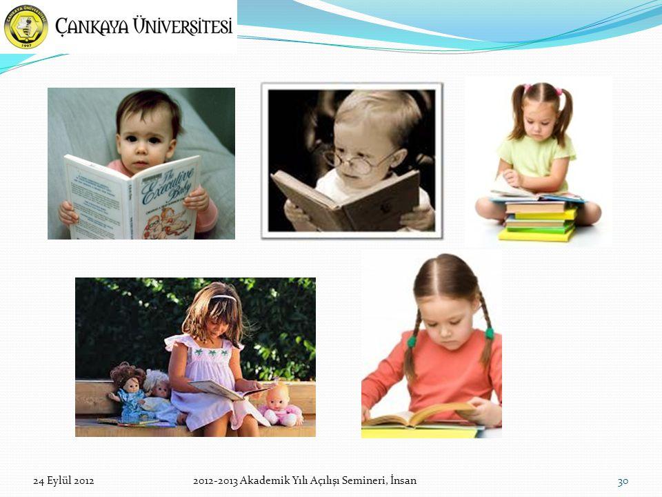 3024 Eylül 20122012-2013 Akademik Yılı Açılışı Semineri, İnsan