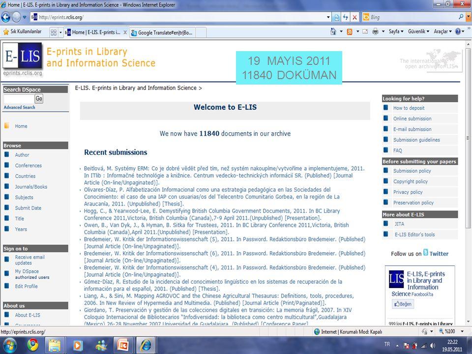 19 MAYIS 2011 11840 DOKÜMAN