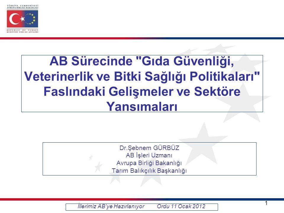 KAPANIŞ KRİTERLERİ VE YAPILMASI GEREKENLER Kapanış Kriteri 4 : Türkiye AB üye devletleri ile yeterli işbirliğini temin ederek hayvan hastalıklarının bildirimine ilişkin yükümlülüklerini yerine getirir, AB'de ihbarı mecburi hayvan hastalıkları için surveylans ve kontrol önlemleri ile müktesebatta öngörüldüğü gibi başlıca epizootik hastalıklar için risk planlarını uygular, önceden oluşturulmuş detaylı bir eradikasyon planın uygulanması suretiyle Şap Hastalığına ilişkin AB müktesebatını tam olarak uygular.