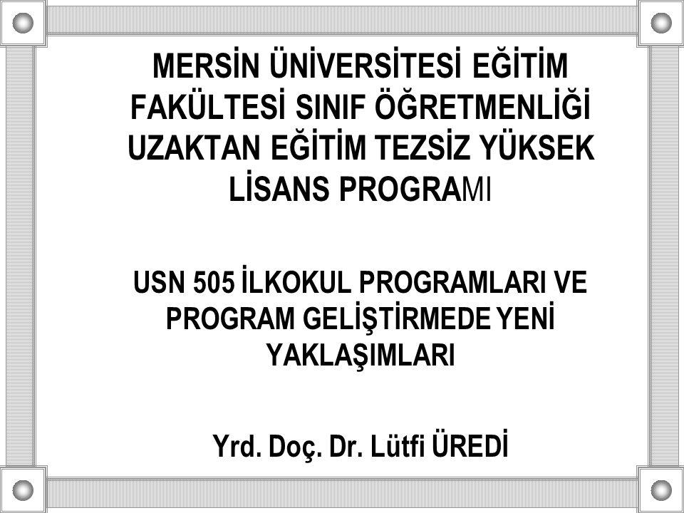 Cumhuriyet Dönemi İlköğretim Programları