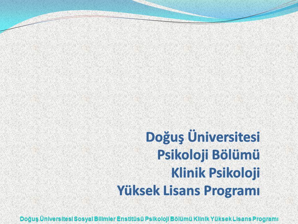 Program — 2004-2005 Eğitim yılında öğrenci alınmaya başlamıştır — İlk mezunlarını 2005-2006 Eğitim yılında vermiştir.