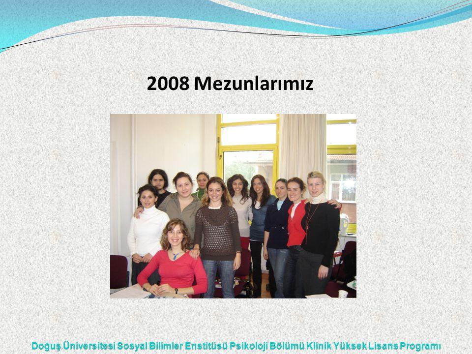 2008 Mezunlarımız