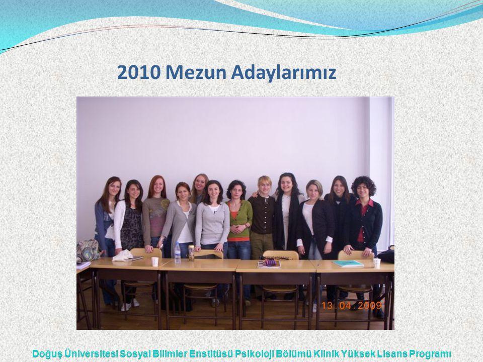 2010 Mezun Adaylarımız