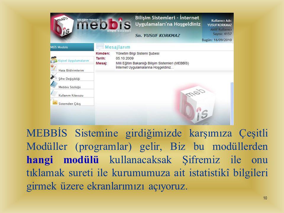 9 Okul Bilgileri E-Posta adresi kesinlikle kuruma verilen resmi e-posta adresi olacaktır. Örnek:(kurum kodu@meb.k12.tr) Okulun e-postası her gün kontr