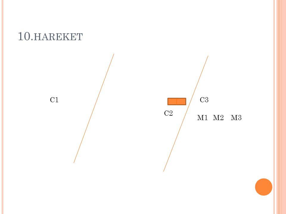10. HAREKET M1M2M3 C1C3 C2