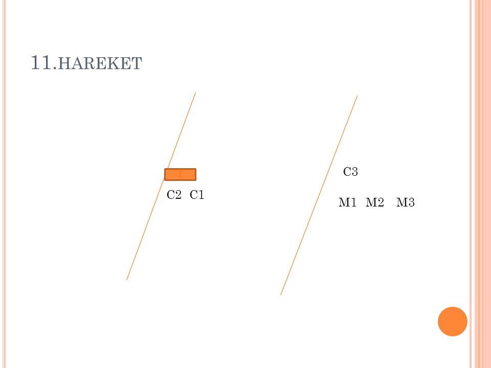 11. HAREKET M1M2M3 C1 C3 C2