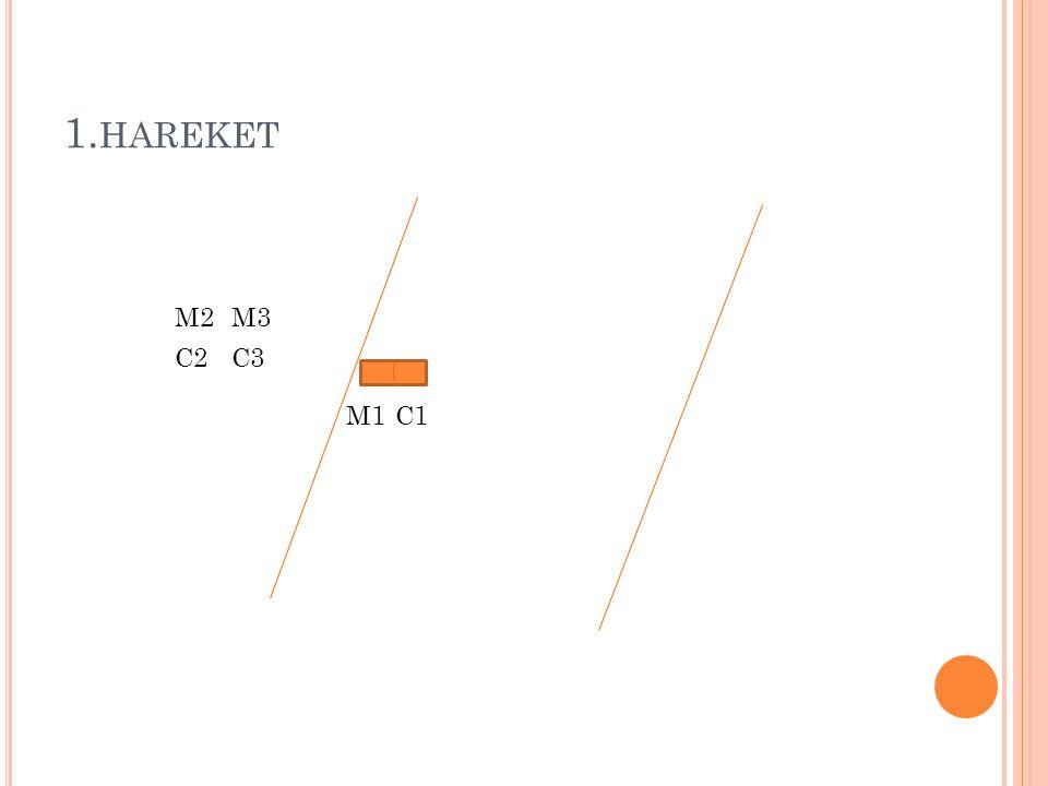 1. HAREKET M1 M2 C1 M3 C3C2