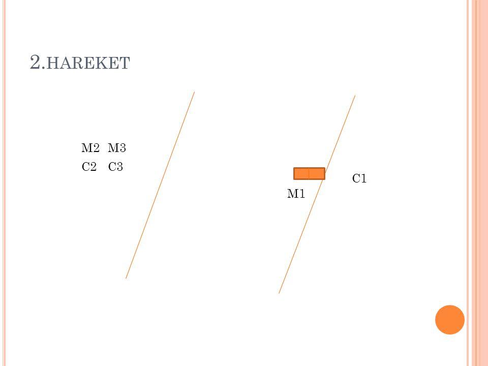 2. HAREKET M1 M2 C1 M3 C3C2