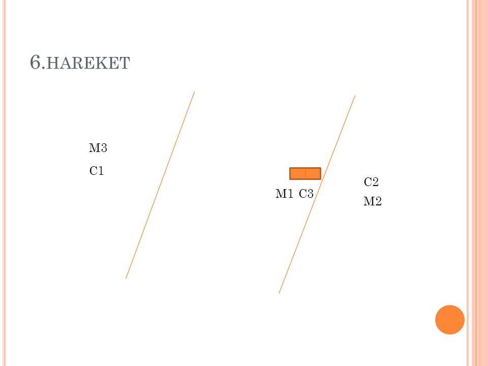 6. HAREKET M1 M2 M3 C1 C3 C2