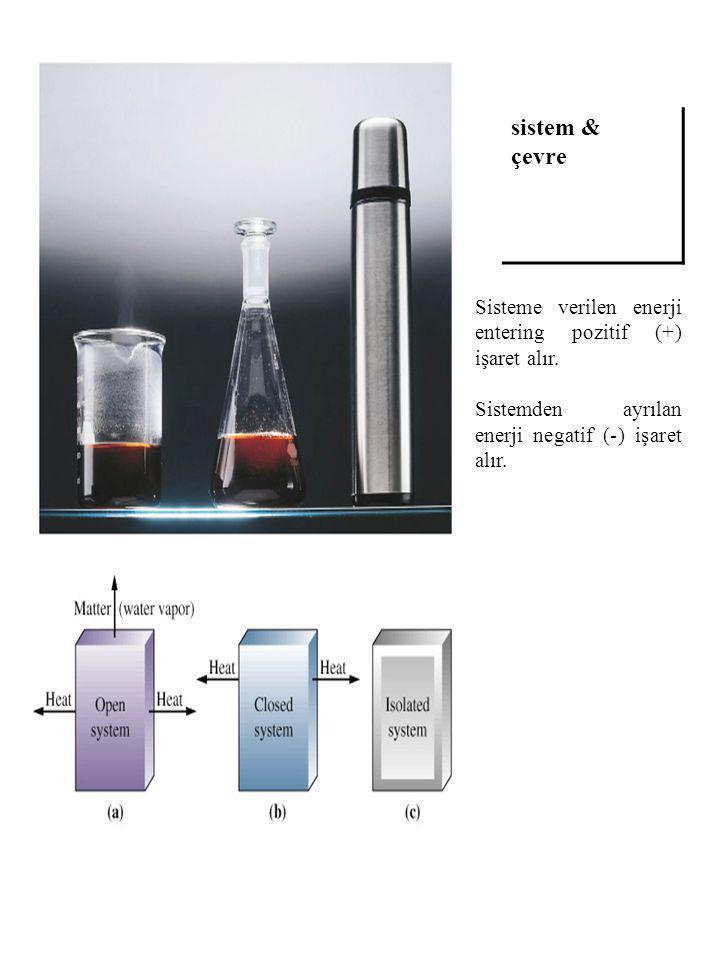 Isı Sistemle çevre arasındaki sıcaklık farkından oluşan enerji akışıdır.