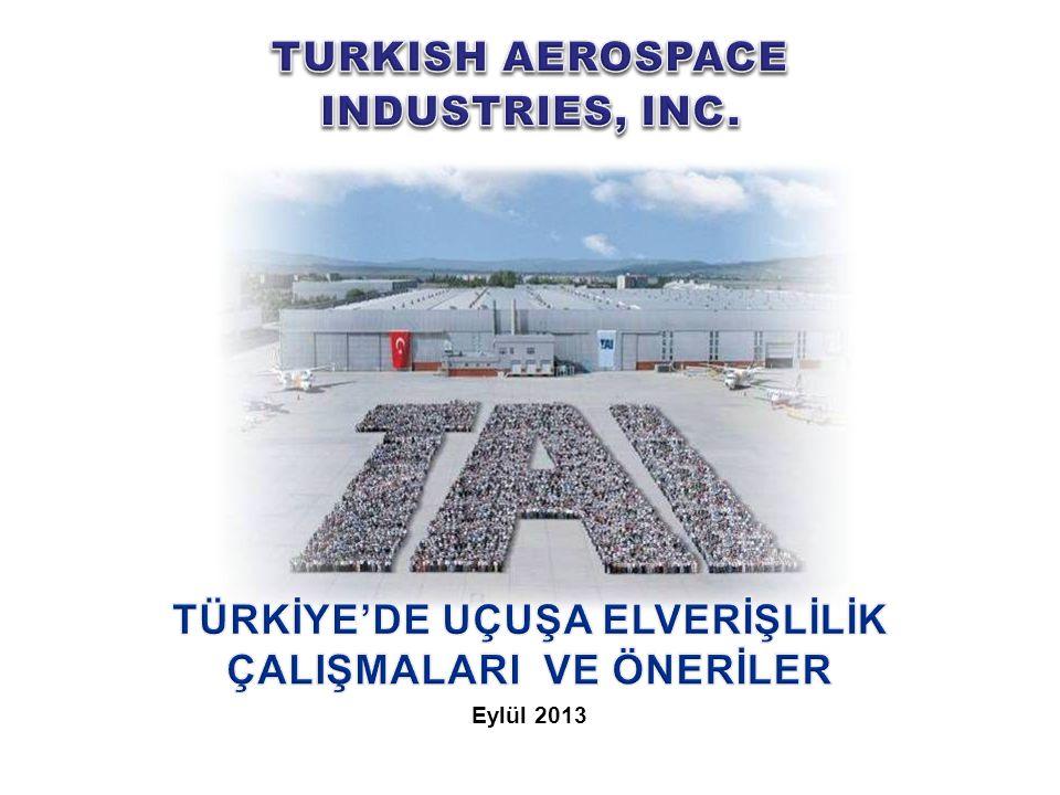 12 UNCLASSIFIED A Turkish Armed Forces Foundation establishment - - / Kısmi* SHGM Evet / * Kısmi* 12 Askeri Havacılık Sivil Havacılık OtoriteYetkinlik Kanun /Alt düzenleme * Çalışmalar yoğun olarak devam etmektedir.