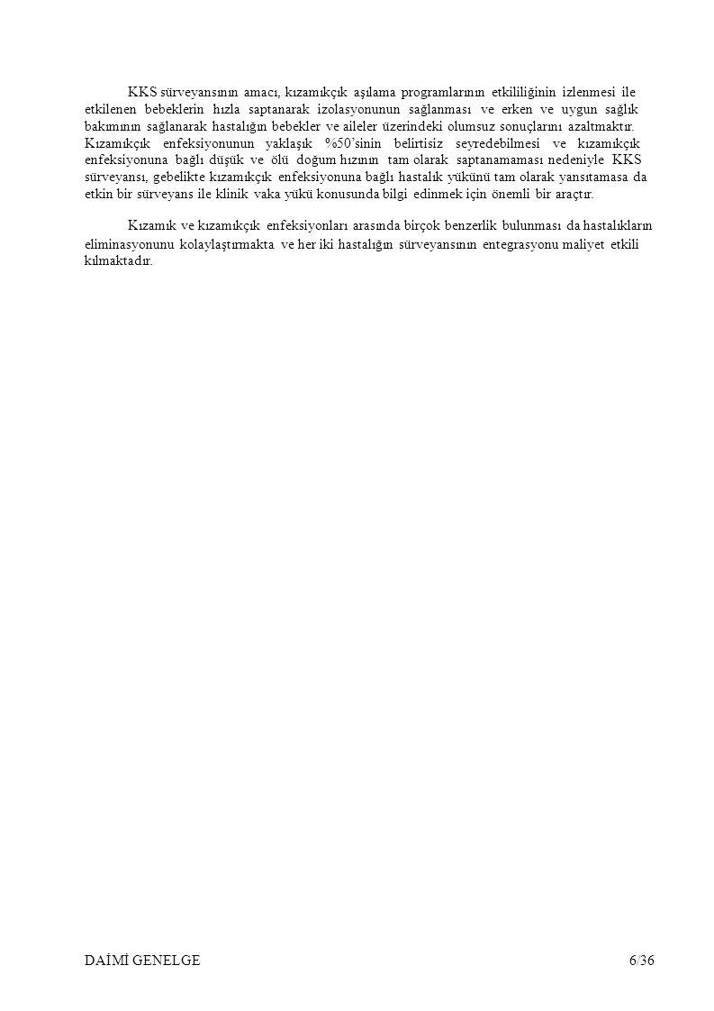 A.TSM/Sağlık Grup Başkanlıkları Tarafından Yapılması Gerekenler: 1.