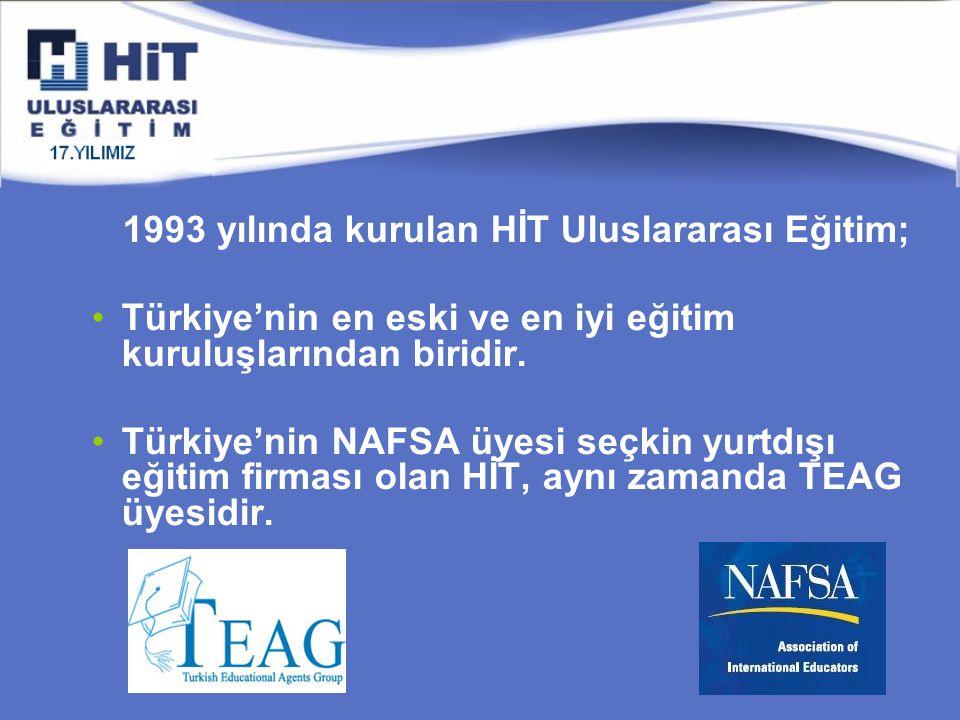1993 yılında kurulan HİT Uluslararası Eğitim; Türkiye'nin en eski ve en iyi eğitim kuruluşlarından biridir.