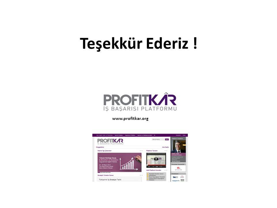 Teşekkür Ederiz ! www.profitkar.org