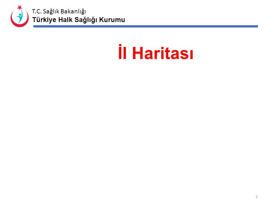 T.C. Sağlık Bakanlığı Türkiye Halk Sağlığı Kurumu ……………………. HALK SAĞLIĞI İL DEĞERLENDİRMESİ …/../20.. 1