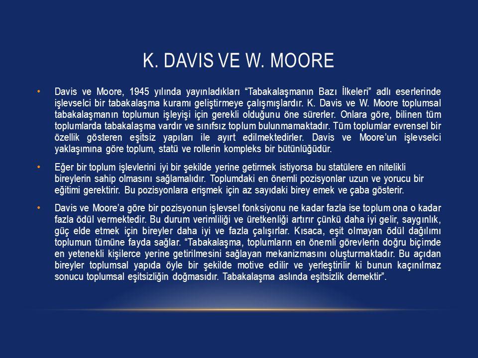K.DAVIS VE W.