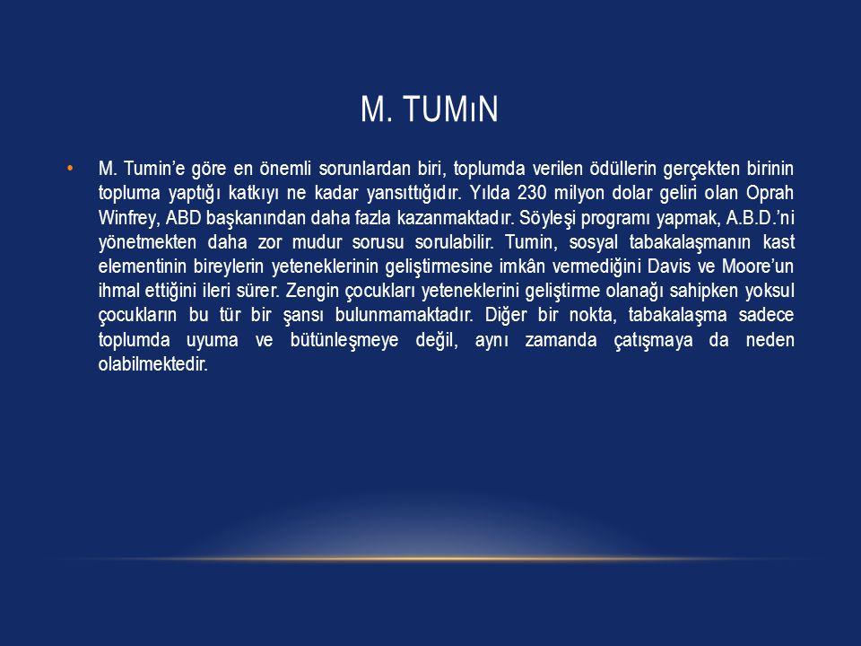 M.TUMıN M.