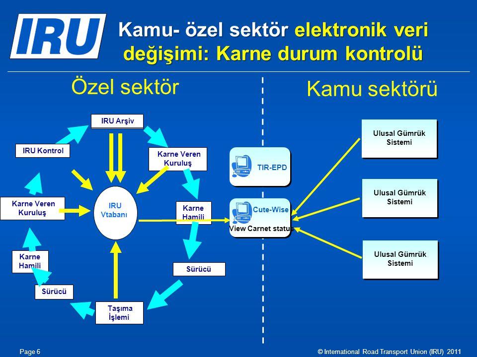 TIR-EPD – Karne Hamili için Avantajlar  TIR-EPD'ye Özgü: Ücretsiz hizmet – aracı kurumların yardımına gerek yok.