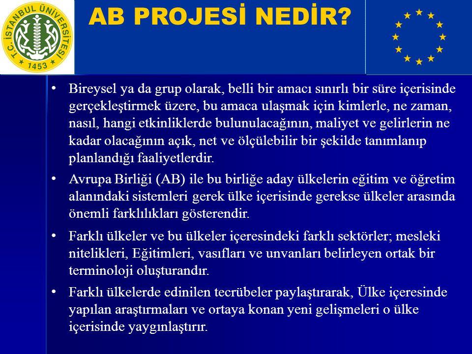 AB PROJESİ NEDİR.