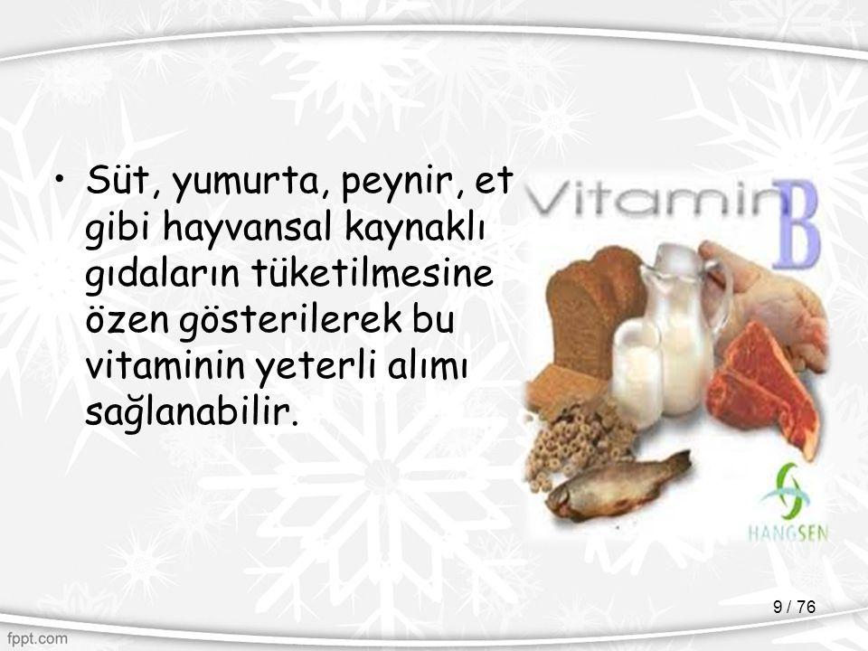 EMZİREN ANNENİN BESLENMESİ 30 / 76