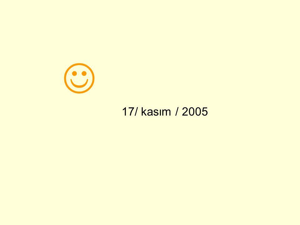 17/ kasım / 2005