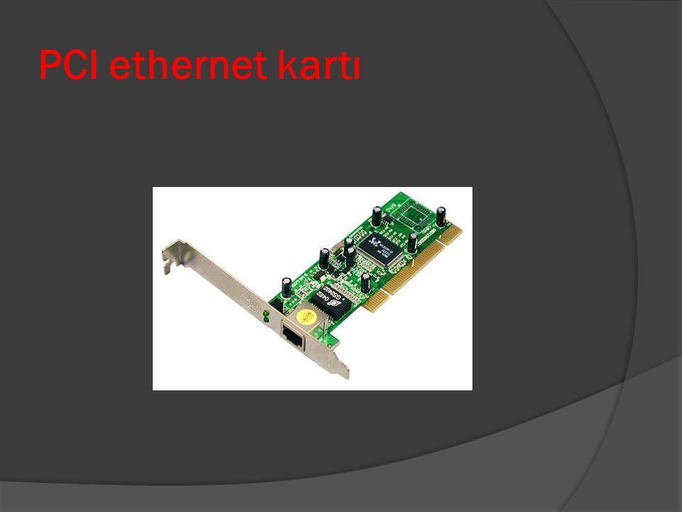 Anakart üzerinde Onboard Ethernet kartı