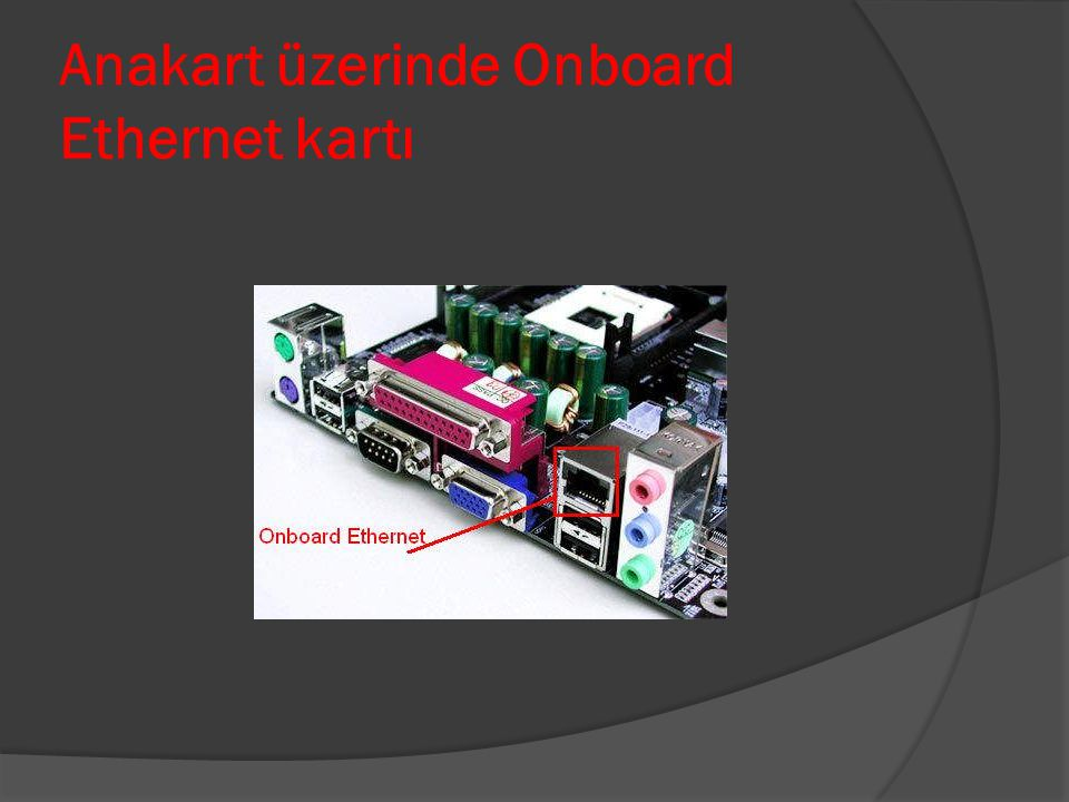 USB Ethernet kartı