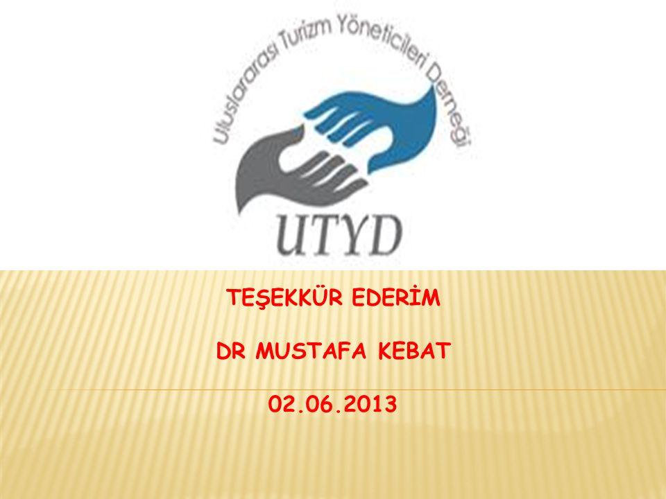 TEŞEKKÜR EDERİM DR MUSTAFA KEBAT 02.06.2013