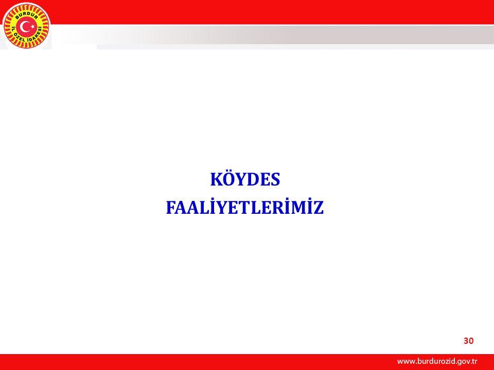 KÖYDES FAALİYETLERİMİZ 30