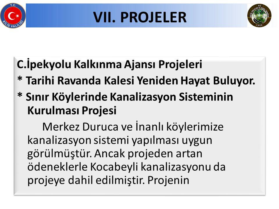 C.İpekyolu Kalkınma Ajansı Projeleri * Tarihi Ravanda Kalesi Yeniden Hayat Buluyor.