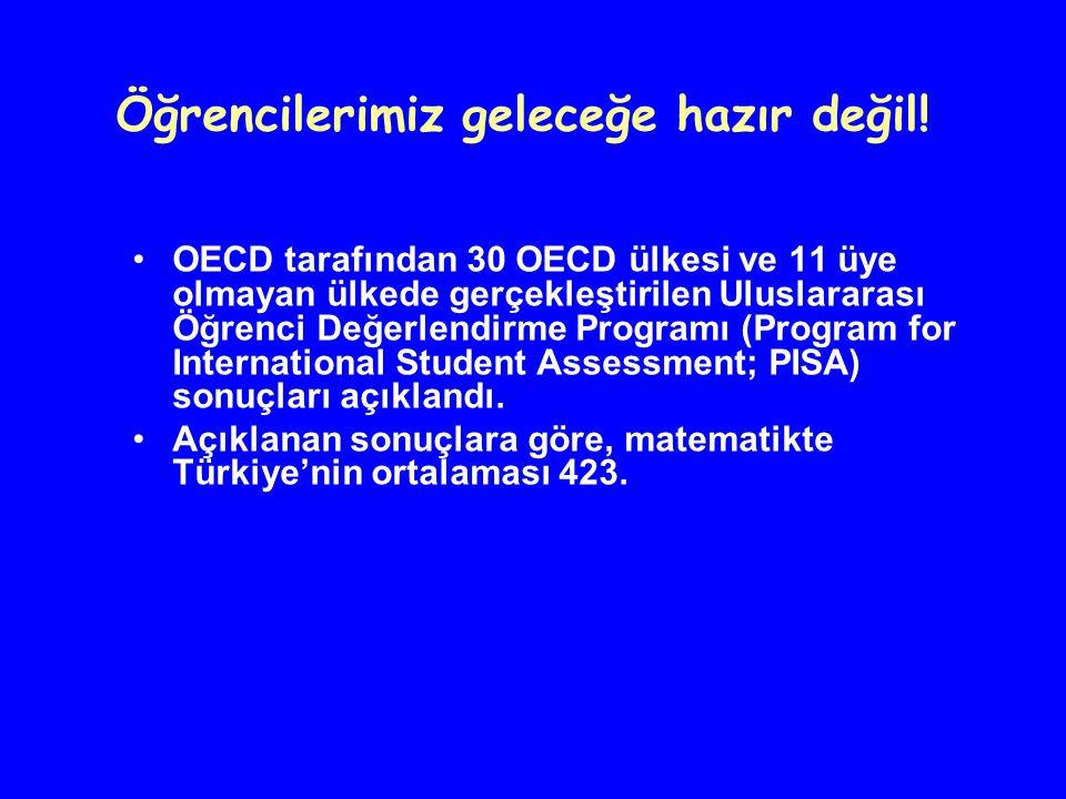 OECD tarafından 30 OECD ülkesi ve 11 üye olmayan ülkede gerçekleştirilen Uluslararası Öğrenci Değerlendirme Programı (Program for International Studen