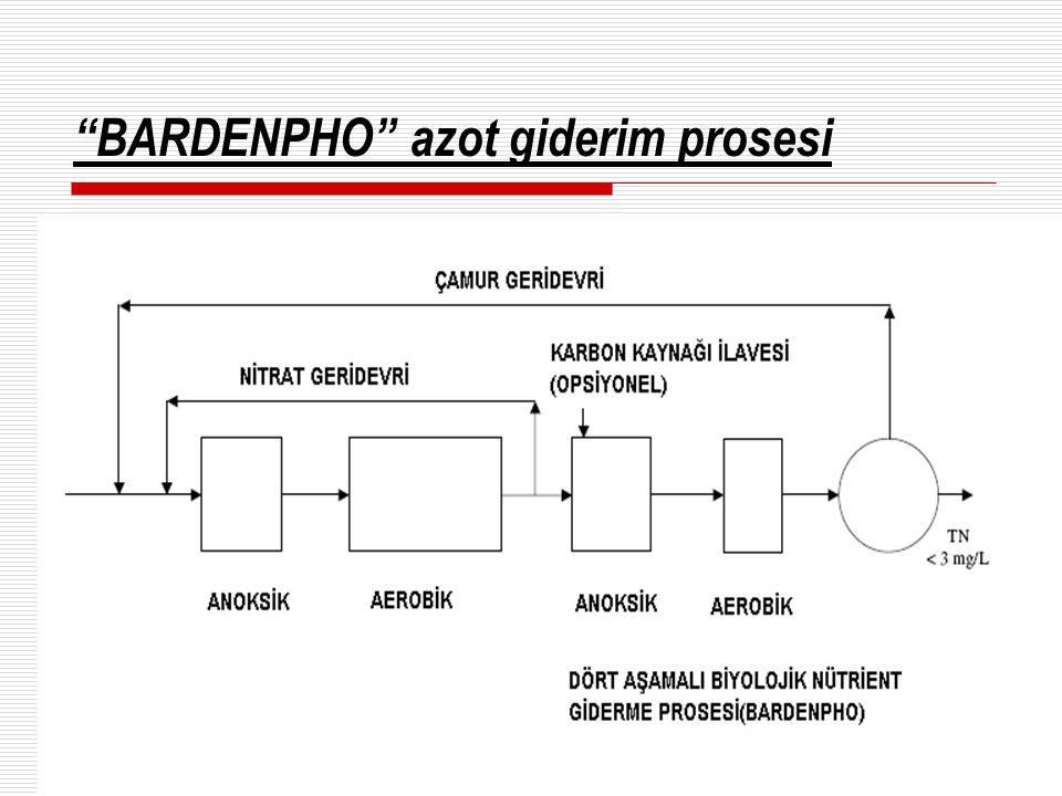 """BARDENPHO"" azot giderim prosesi"