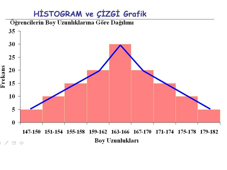 HİSTOGRAM ve ÇİZGİ Grafik