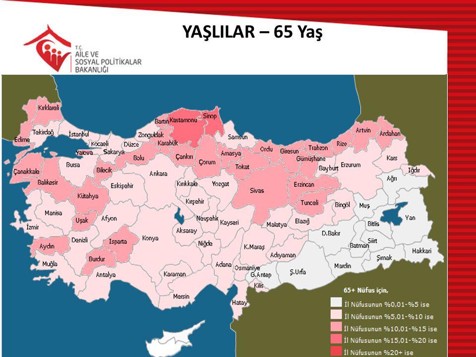 YAŞLILAR – 65 Yaş
