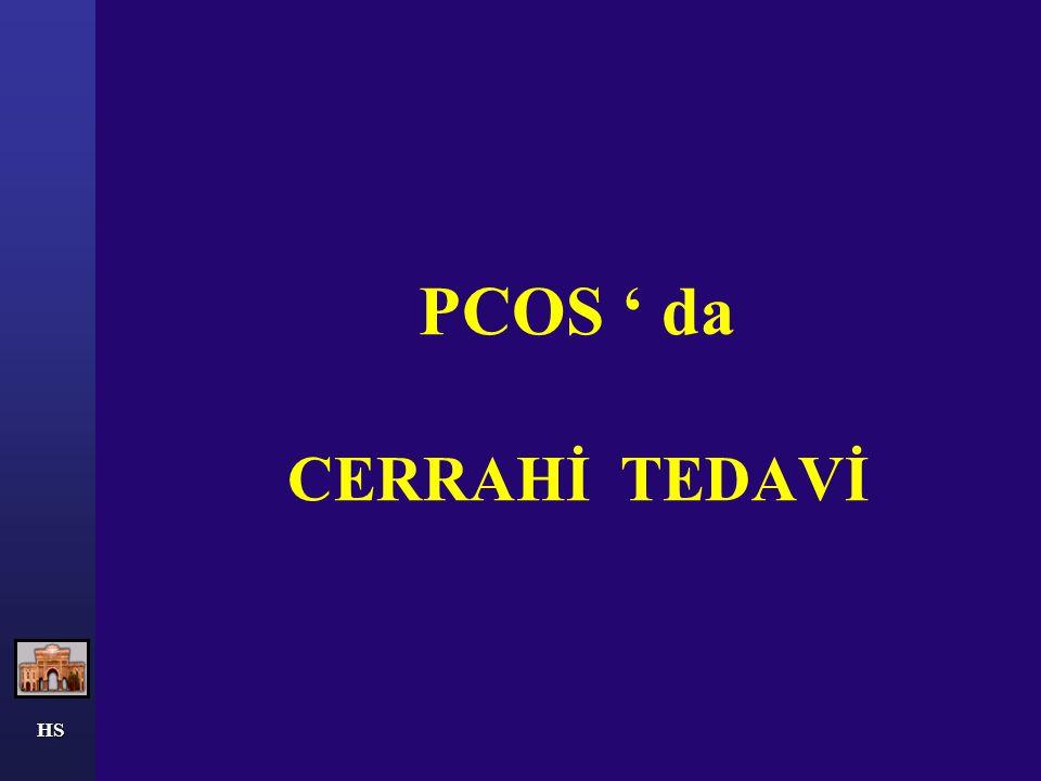 PCOS ' da CERRAHİ TEDAVİ
