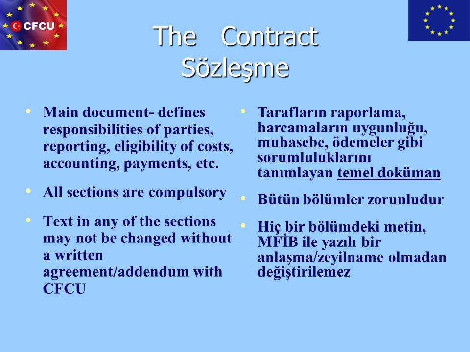 VAT / KDV Expenditures are VAT Exempted No taxes, duties or levies payable shall be charged Harcamalar KDV'den muaftır Hiçbir vergi, gümrük vergisi ve diğer yükümlülükler ödenmeyecektir
