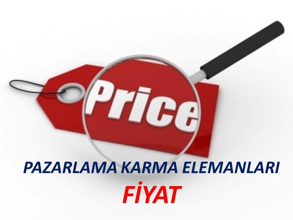 Pazarlama Karması Ürün Fiyat Süreçler Fiziksel kanıtlar İnsan Tutundur ma Dağıtım