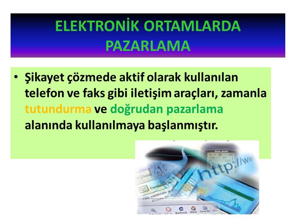 Turizm alanında elektronik ticaretin kullanımı geçmişe dayanır.