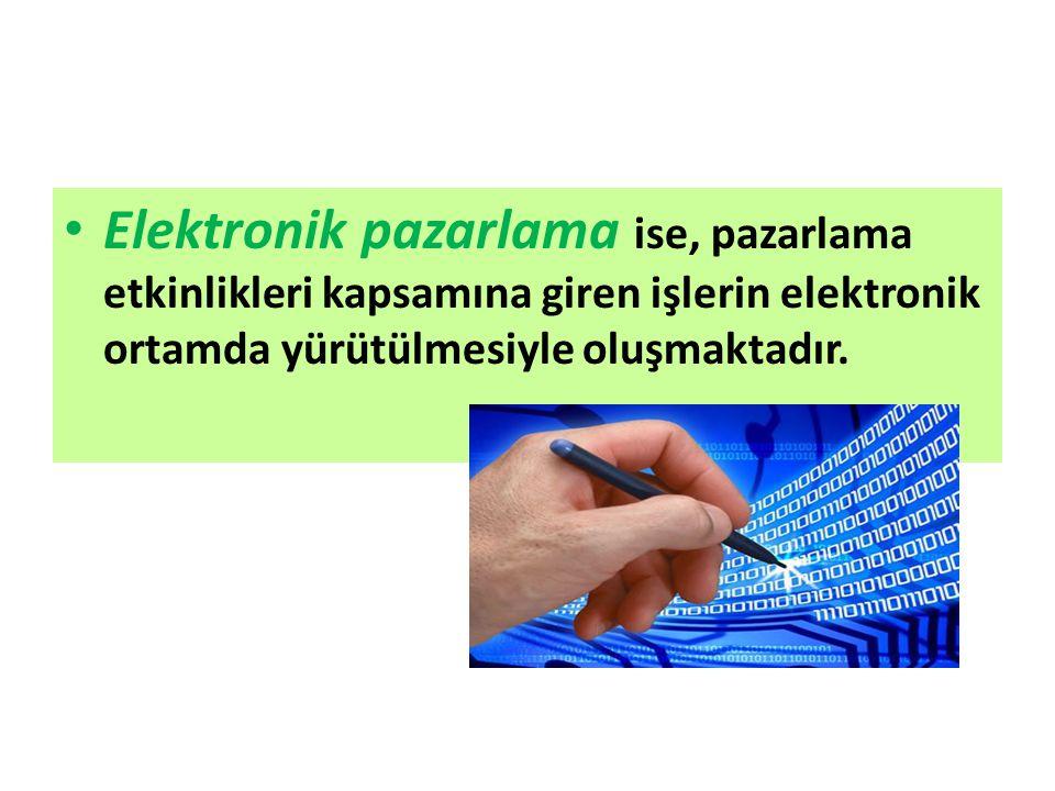 6.Tutundurma Internet vasıtasıyla satış temsilcileri müşterilerle iletişim kurabilir.