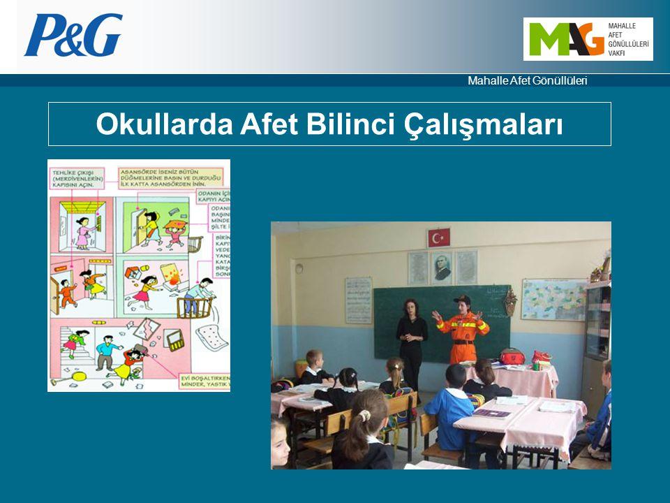 Mahalle Afet Gönüllüleri Okullarda Afet Bilinci Çalışmaları