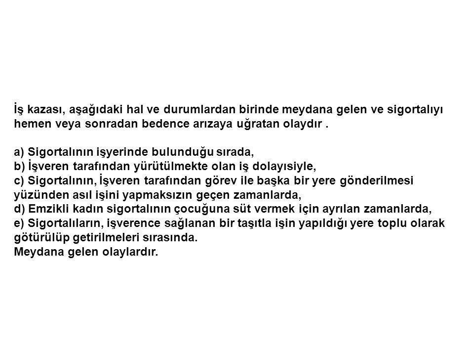 Her yıl 120 milyon iş kazası olmakta, 210.000'i ölümlü, Her 3 dakikada 1 kişi ölüyor Türkiye'de kayıtlar yanıltıcı, sigortasız çalışanlar kaza kayıtlarında izlenemiyor DÜNYA ÇALIŞMA ÖRGÜTÜ ( ILO) İSTATİSTİKLERİ