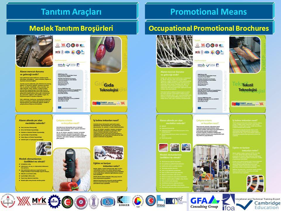 Tanıtım AraçlarıPromotional Means Meslek Tanıtım BroşürleriOccupational Promotional Brochures