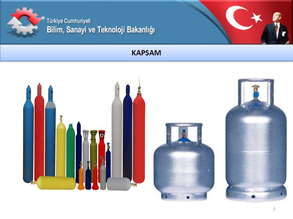 6 1.Tehlikeli Malların Karayolu ile Uluslararası Taşımacılığına İlişkin Avrupa Anlaşması (ADR), 2.Taşınabilir Basınçlı Ekipmanlar Yönetmeliği (99/36/AT) 3.Taşınabilir Basınçlı Ekipmanlar Yönetmeliği (2010/35/AB) DAYANAK
