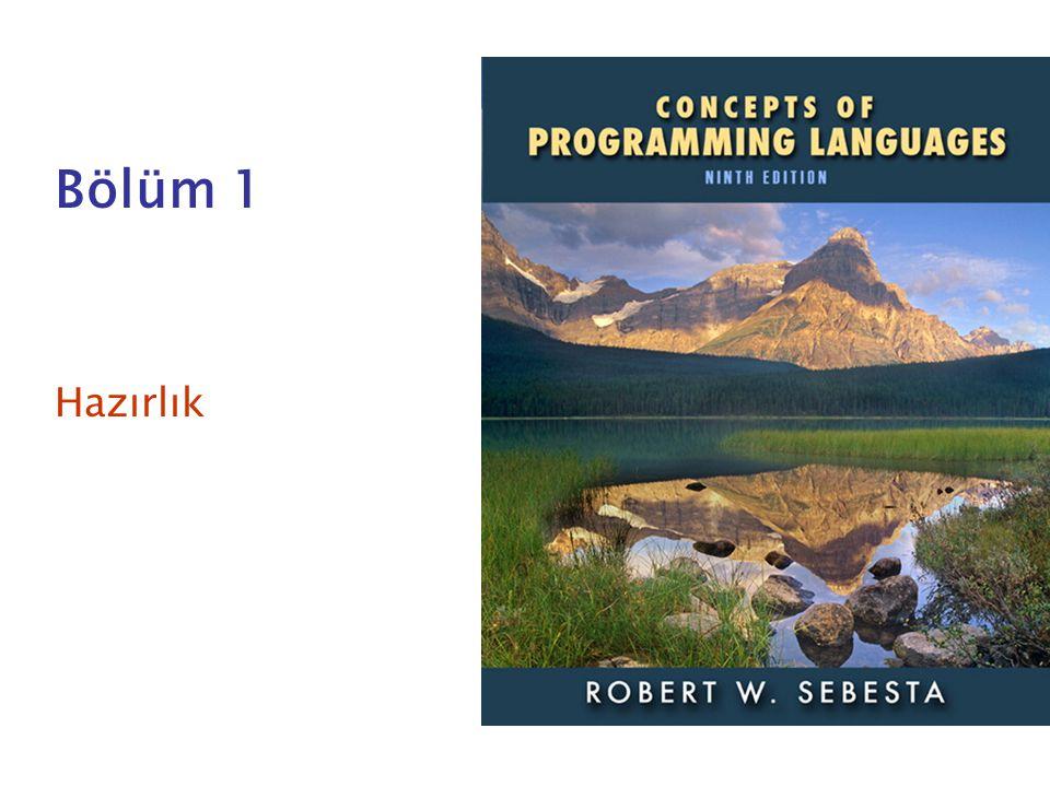 ISBN 0-321-49362-1 Bölüm 1 Hazırlık