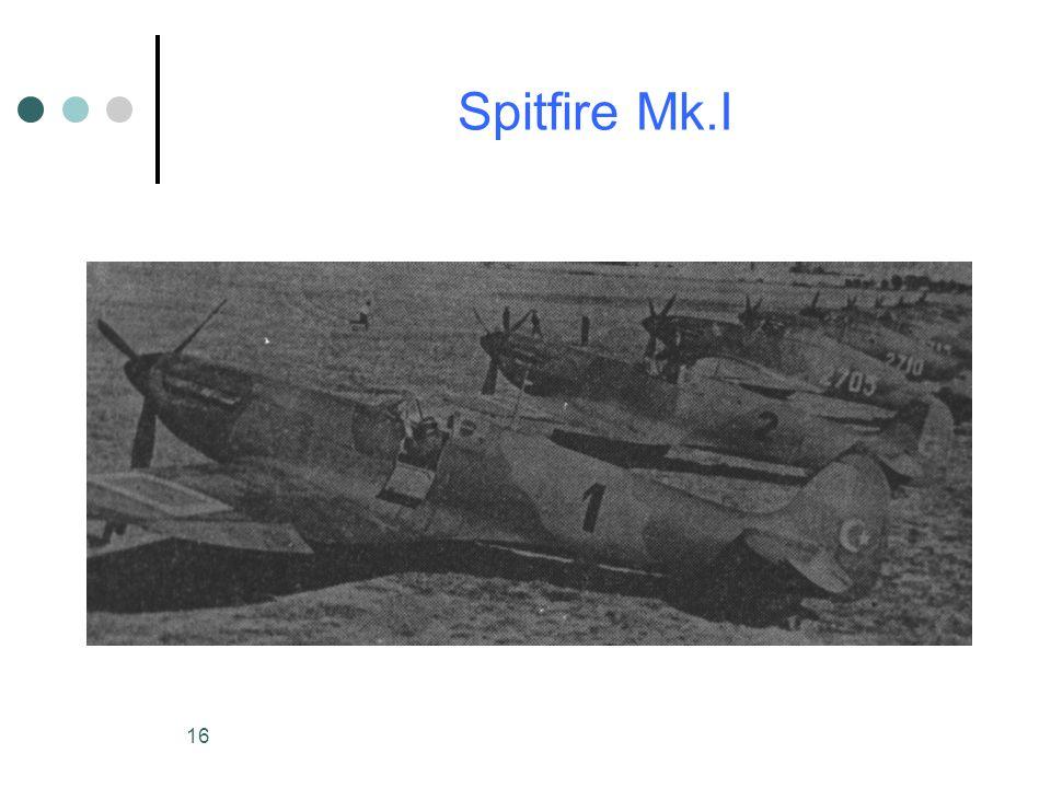 16 Spitfire Mk.I