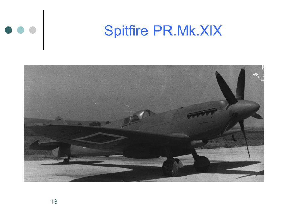 18 Spitfire PR.Mk.XIX