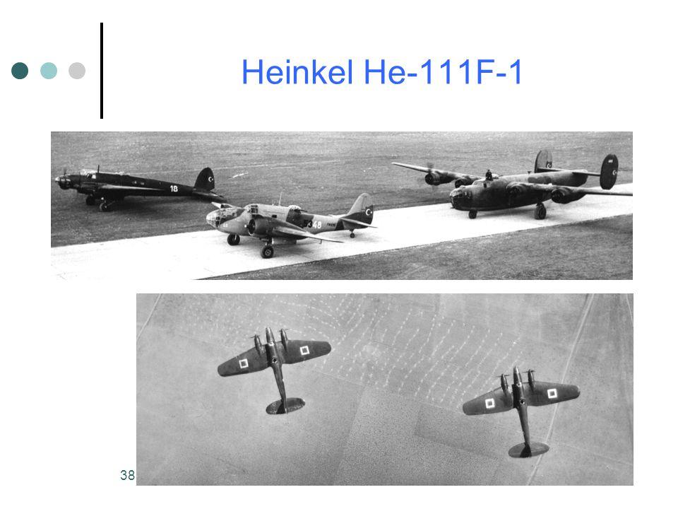38 Heinkel He-111F-1