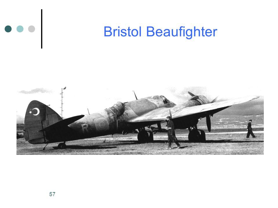 57 Bristol Beaufighter